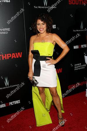 Editorial image of 'Southpaw' film premiere, New York, America - 20 Jul 2015