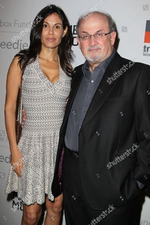 Salman Rushdie and Missy Brody