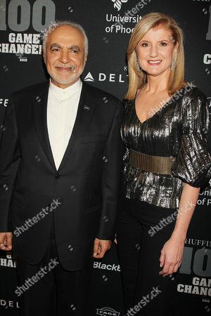 Imam Feisal Abdul Rauf and Arianna Huffington