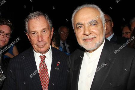 Mayor Michael Bloomberg and Imam Feisal Abdul Rauf