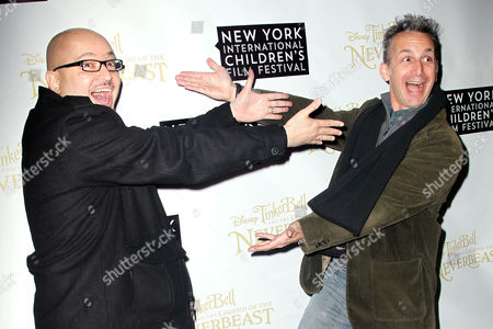 Stock Image of Steve Loter (Director) and Michael Wigert (Producer)