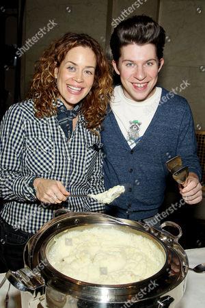 Susie Fogelson and Justin Warner