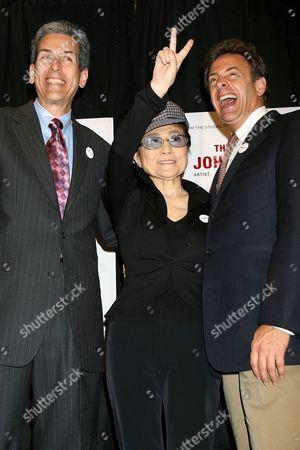 David Leaf (Writer,Producer and Director), Yoko Ono and John Scheinfeld (Writer,Producer and Director)