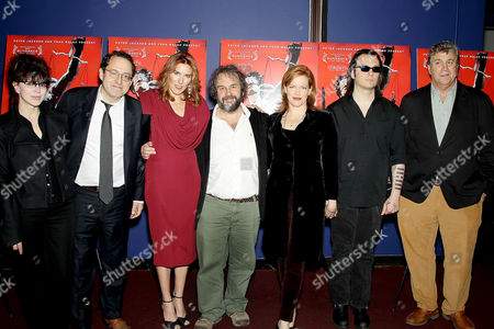 Fran Walsh, Michael Barker, Amy Berg, Peter Jackson and Lorri Davis