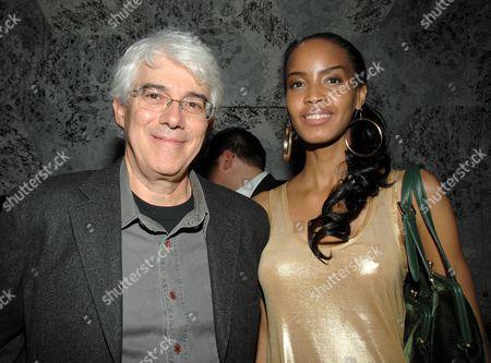 Director Paolo Morelli and Georgianna Robertson