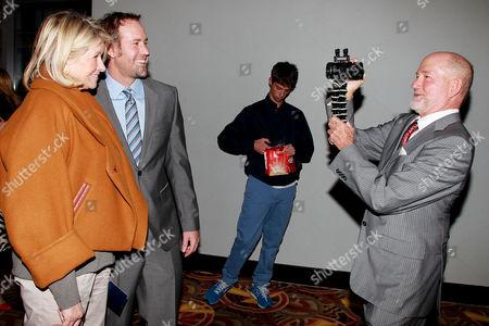 Martha Stewart, Shaun MacGillivray and Greg MacGillivray