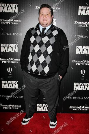 Editorial image of 'Delivery Man' film screening, New York, America - 17 Nov 2013