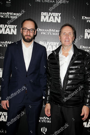 Stock Picture of Ken Scott (Director) and Andre Rouleau (Producer)
