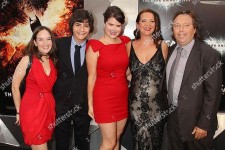 Richard Gelfond, Peggy Gelfond and family