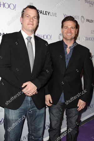 Jonathan Nolan and Greg Plageman
