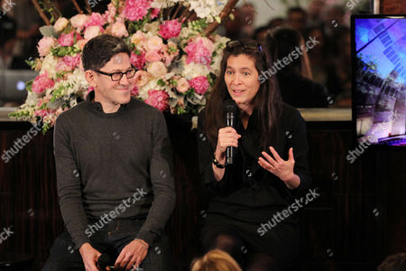 Stock Image of Randy Weiner (Co-creative director) and Diane Paulus (Co-crea
