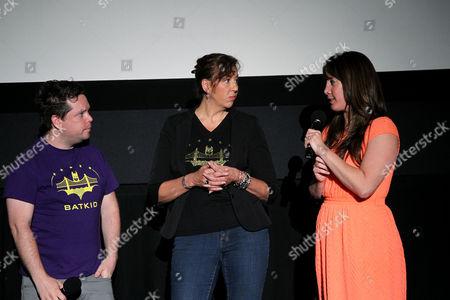 Mike Jutan, Patricia Wilson (Exec. Dir. Make-A-Wish SF), Dana Nachman (Director)