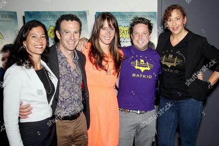 Sue Graham Johnston, Eric Johnston, Dana Nachman (Director), Mike Jutan, Patricia Wilson (Exec. Dir. Make-A-Wish SF)