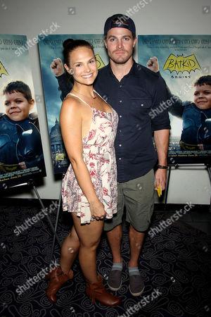 Cassandra Jean, Stephen Amell (Green Arrow)
