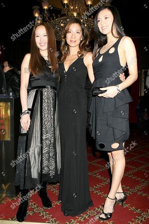 Youki Kudoh, Michelle Yeoh and Ziyi Zhang