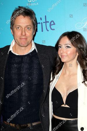 Hugh Grant and Emily Morden