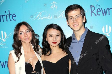 Emily Morden, Annie Q and Steven Kaplan