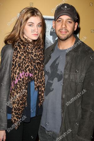 Alizee Guinochet and David Blaine