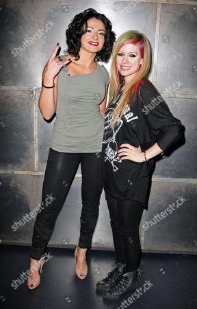 Juliya Chernetsky and Avril Lavigne