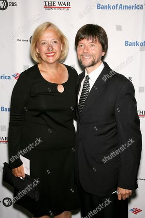 Paula Kerger, President and CEO of PBS and Ken Burns