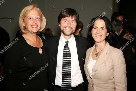 Paula Kerger (President and CEO, PBS), Ken Burns (director), Lynn Novick (Co-director,producer)