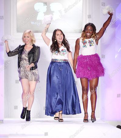 Brittany Snow, Stacy Igel, Sloane Stephens