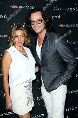 Angel Reed and Constantine Maroulis