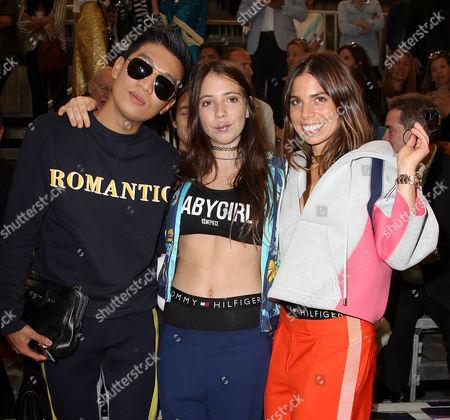 Bryanboy, Elizabeth Hilfiger and Ally Hilfiger