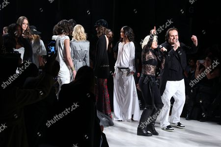 Editorial photo of Mark and Estel show, Autumn Winter 2015, Mercedes-Benz Fashion Week, New York, America - 13 Feb 2015
