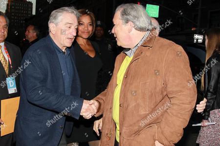 Robert De Niro and Jeff Baker, Executive Vice President at Warne