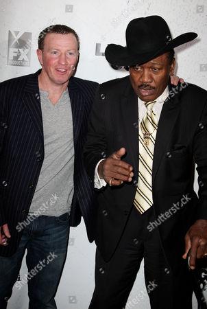 Micky Ward and Joe Frazier