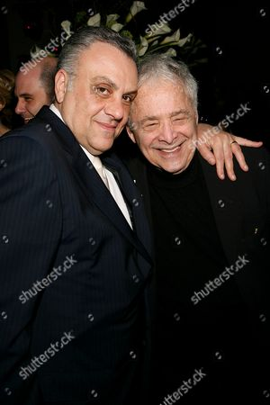 Stock Picture of Vincent Curatola with Chuck Barris