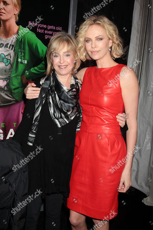 Jill Eikenberry and Charlize Theron