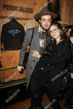 Stock Photo of Elvis Perkins and Danielle Alexandra