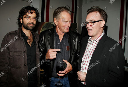 Mateo Gil (Director), Sam Shepard and Eammon Bowles (Pres. Magnolia Pictures)
