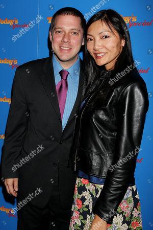 Stock Image of David Kaplan (Director) and Corrine Hong Wu