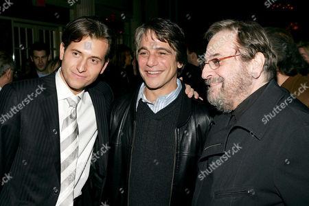 Peter Cincotti, Tony Danza and Phil Ramone