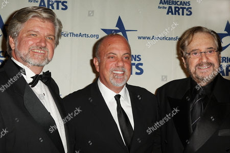 Stock Photo of Robert L. Lynch, Billy Joel, and Phil Ramone