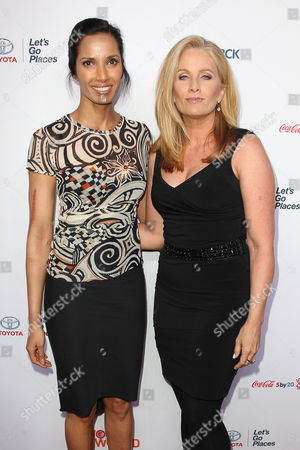 Padma Lakshmi and Alex Witt