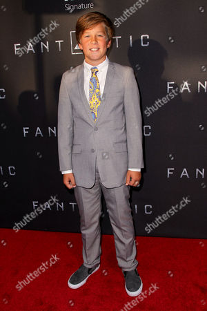 Editorial image of 'Fantastic Four' film premiere, New York, America - 04 Aug 2015