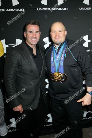 Kevin Plank and Steve Holcomb