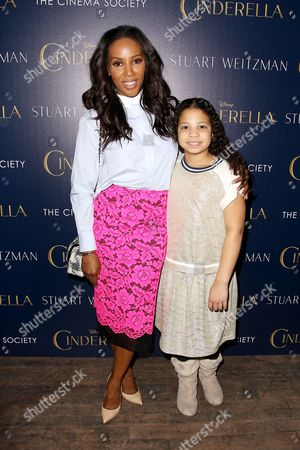 Stock Picture of June Ambrose and Summer Chamblin (daughter)