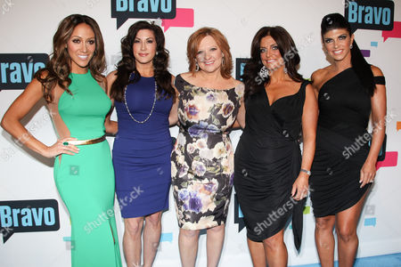 Cast of 'The Real Housewives of New Jersey' - Melissa Gorga, Jacqueline Laurita, Caroline Manzo, Kathy Wakile, and Teresa Giudice