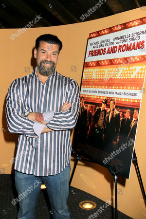 Editorial picture of 'Friends and Romans' film screening, New York, America - 02 Nov 2015