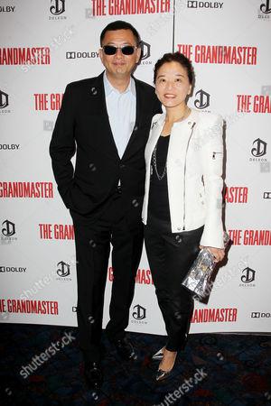 Wong Kar Wai and Esther Wong