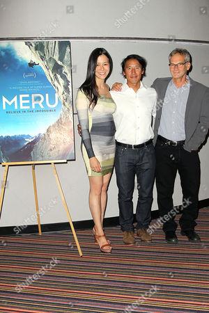 Elizabeth Chai Vasarhelyi, Jimmy Chin and Jon Krakauer