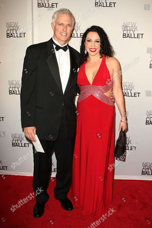 Stock Picture of Patrick Cassidy and wife Melissa
