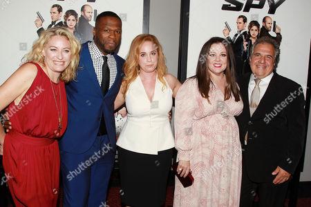 Jamie Denbo, 50 Cent, Jessica Chaffin, Melissa McCarthy
