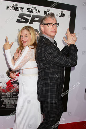 Laurie Karon and Paul Feig