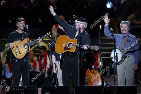 Tom Morello (Rage Against the Machine), Tom Paxton and Eric Weissberg